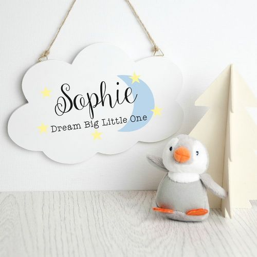 Personalised Keep Dreaming Cloud Wall Hanging